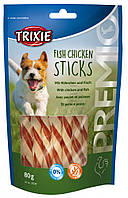 "Лакомство для собак ""PREMIO Fish Chicken Sticks"" Trixie, курица с рыбой 80 гр"