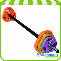 Штанга для боди-памп Alex TPU Pump Weight Set 20 kg