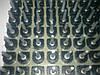 Набойки полиуретановые женские со штырьком Б19 полукруглая черн.