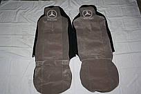 Чехлы на сидение Mercedes серые