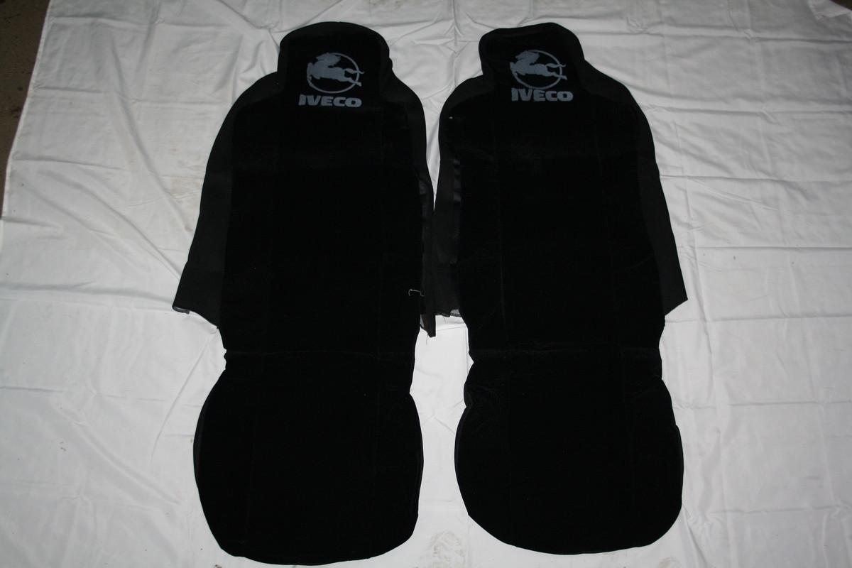 Чехлы на сидение Iveco чорные