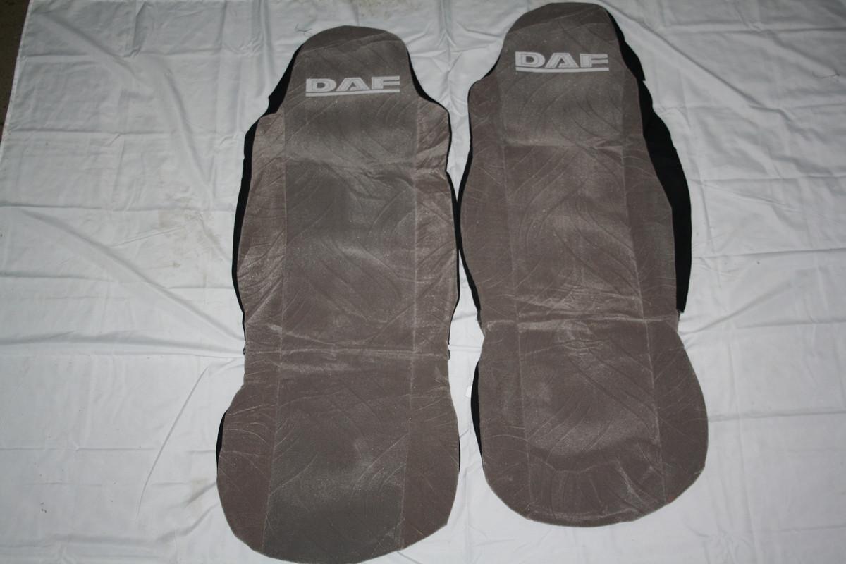 Чехлы на сидение DAF серые