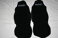 Чехлы на сиденья ДАФ чорные