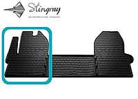 Iveco daily vi 2014- водительский коврик черный в салон.