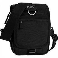 Сумка через плечо черного цвета CAT арт. 83439;01