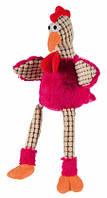 Курица плюш/ткань яркая Trixie, 45 см