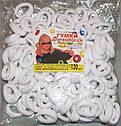 Бесшовная резинка для волос Калуш d 2,3 см 120 шт/уп белая, фото 3