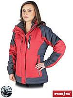 Куртка зимняя женская TREEFROG (лыжная) красная (размер XXL)