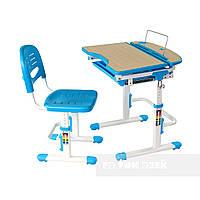 Парта для школьника для дома FunDesk Sorriso Blue