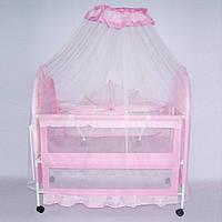 Кроватка для ребенка металлическая Tilly (XG9136)