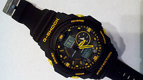 Наручные часы Casio G-Shock GA-150 black/yellow