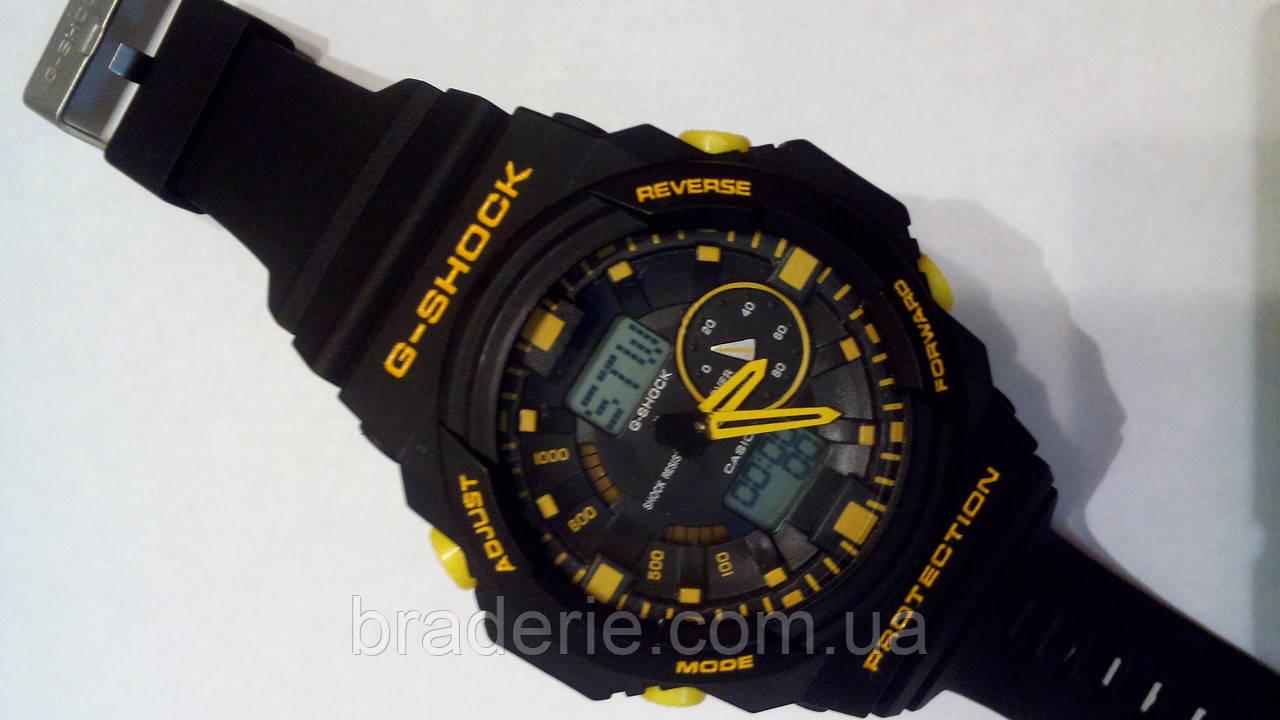 Наручные часы Casio G-Shock GA-150 black/yellow
