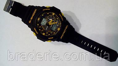 Наручные часы Casio G-Shock GA-150 black/yellow, фото 2