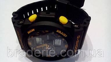 Наручные часы Casio G-Shock GA-150 black/yellow, фото 3