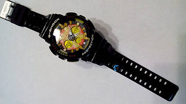 Наручные часы Casio G-Shock GA-120 black/yellow, фото 3