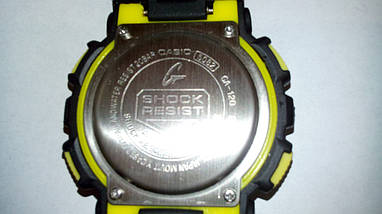 Наручные часы Casio G-Shock GA-120 black/yellow, фото 2