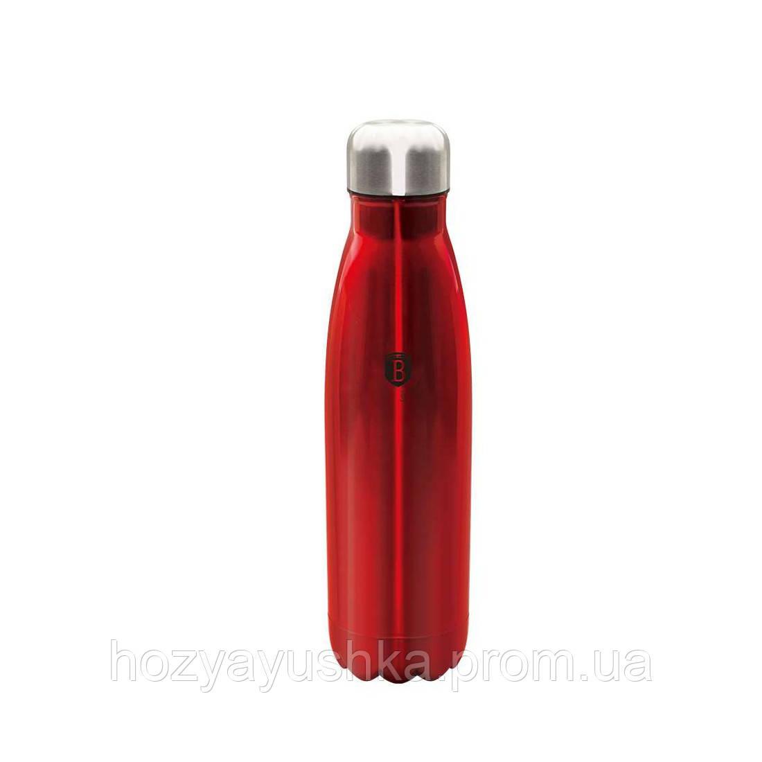 Термос-бутылка Berlinger Haus Burgundy Metallic Line BH-1759 - 0.5 л