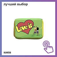 Жевачка Love is Apple and Lemon яблоко и лимон 4g