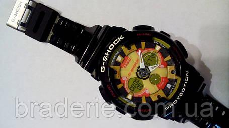 Наручные часы Casio G-Shock GA-120 black/yellow, фото 2