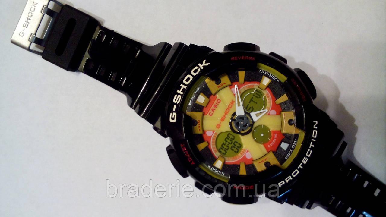 Наручные часы Casio G-Shock GA-120 black/yellow