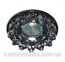 Встраиваемый  светильник Feron CD2542 MR16 ( прозрачный-серый)