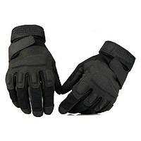 Перчатки тактические BLACKHAWK (PL, закрытые пальцы, р-р L-XL, черный)