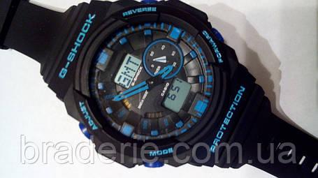 Наручные часы Casio G-Shock GA-150 black/blue, фото 2