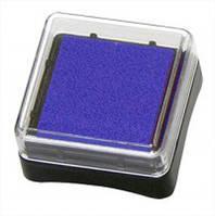 Чернильная подушка Синяя, 2,5х2,5 см