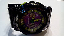Наручные часы Casio G-Shock GA-120 black/green, фото 3