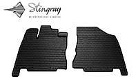 Infiniti jx 2012- комплект из 2-х ковриков черный в салон. . .