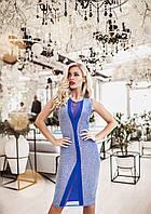 Красивое люрексовое платье по фигуре, фото 1
