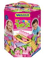 Wader.  Конструктор Wader 102 элемента для девочек (41291)