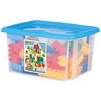 Wader.  Конструктор Wader Middle Blocks 132 элемента в коробке (41270)