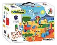 Wader. Конструктор Wader Middle Blocks Большой 70 элементов (41582)