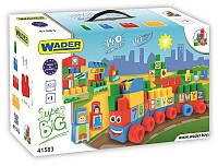 Wader. Конструктор Wader Middle Blocks Супер большой 140 элементов (41583)
