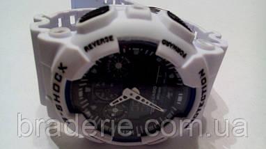 Наручные часы Casio G-Shock GA-100 white, фото 3
