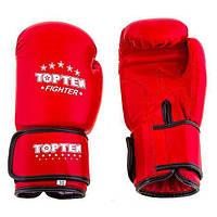 Боксерские перчатки TopTen кожа