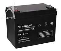 Аккумуляторная батарея SunLight SP 12- 75