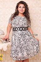 Платье повседневное большого размера 44-54