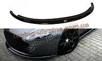 Диффузор на передний бампер для Aston Martin V8 Vantage 2004