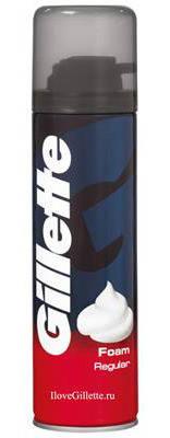 Пена для бритья Gillette Regular Классическая 200 мл, фото 2