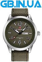 Мужские часы Naviforce Forest Green 1 ГОД ГАРАНТИИ! (+Видео)