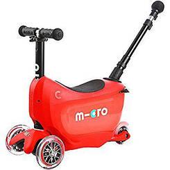 Самокат Mini Micro 2go Deluxe Red + (червоний)