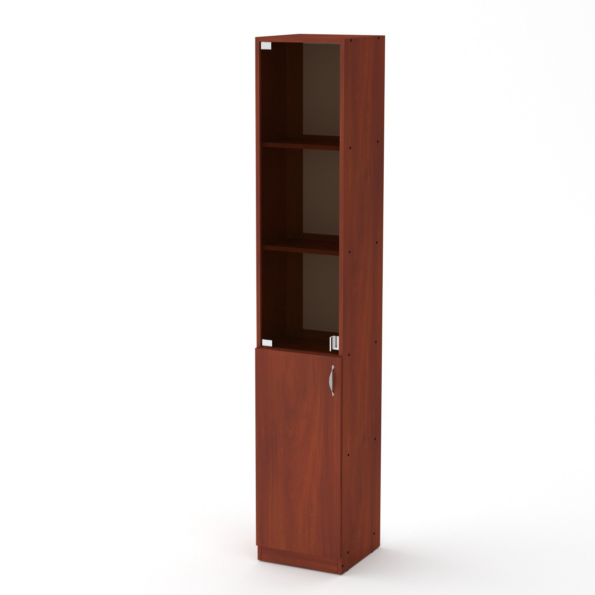 Шкаф книжный КШ-9 яблоня Компанит (35х37х195 см)