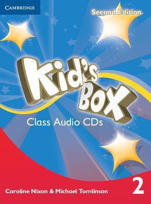 Kid's Box Second Edition 2 Class Audio CDs