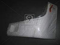 Буфер бампера Богдан 092 передний левый (клык) белый RAL 9003 <ДК>