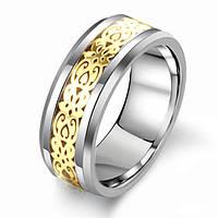"""Мужское кольцо из вольфрама """"Аскольд"""", фото 1"""