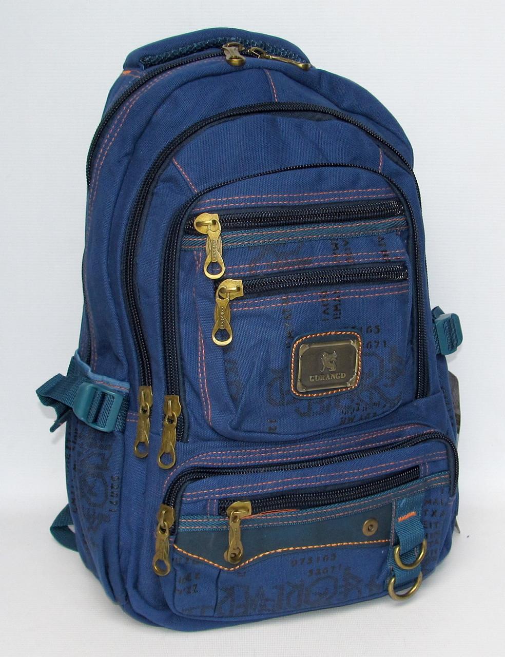 """384c4ff43ddf Брезентовый рюкзак """"Gorangd 2115"""" - Интернет магазин рюкзаков и сумок  STREET BAGS в Хмельницком"""