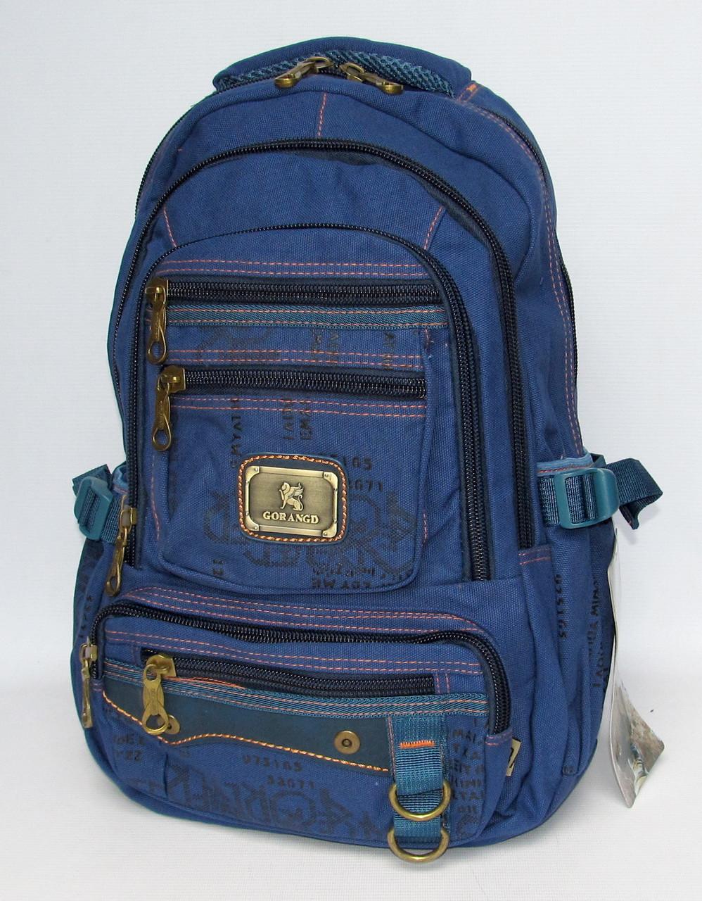 """0ee2f0d02d4f Брезентовый рюкзак """"Gorangd 2115"""", цена 430 грн., купить в Хмельницком —  Prom.ua (ID#644770616)"""