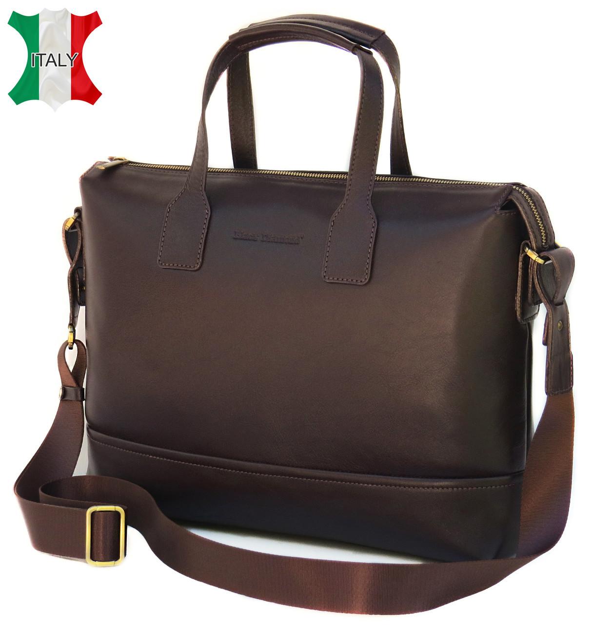 4455c59e9e1c Мужская кожаная сумка Black Diamond BD5C, коричневый - SUPERSUMKA интернет  магазин в Киеве